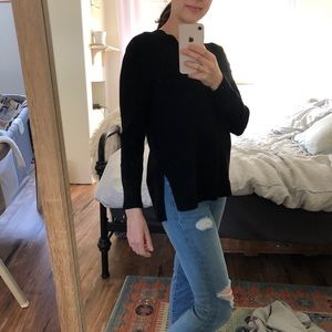 Anthropologie Sweaters - 2/$25 Anthropologie V Neck Sweater Black Size XSP